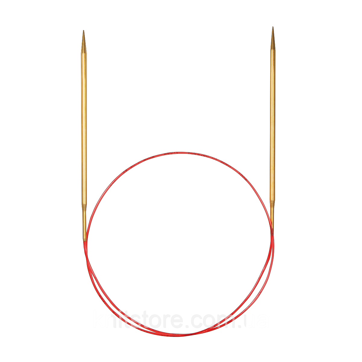 Спиці Addi | кругові | c витягнутим кінчиком | 100 см | 3.25 мм
