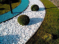 Мраморная Галька Декоративный ,белый камень крошка Thassos