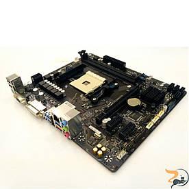 Материнська плата для ПК Gigabyte GA-B350M-D2, Socket AM4, DDR4. НАРАЗІ НЕ ПІДТРИМУЄ RYZEN. Нова, гарантія!