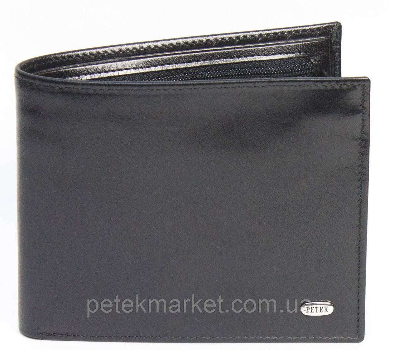 Кожаное мужское портмоне Petek 114