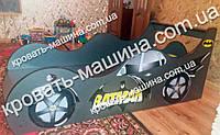 Кровать машина Бэтмен графит