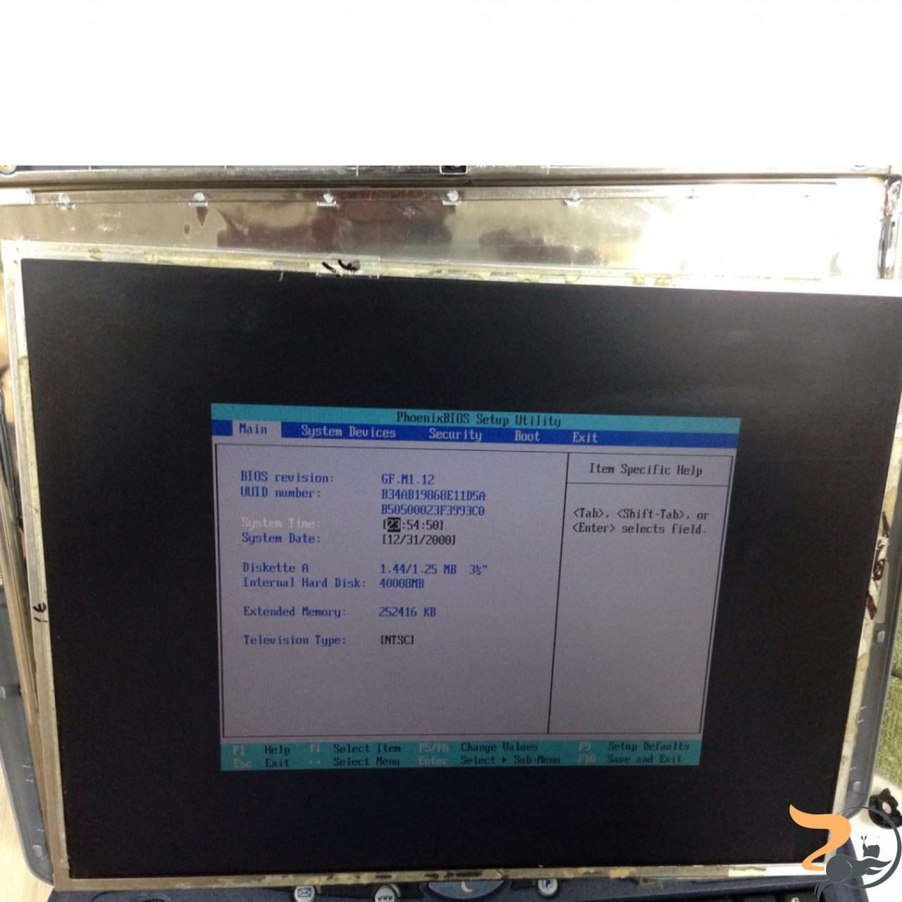 "Матриця Samsung, LTN141XC-L01, CCFL 1-Bulb, LVDS, 14.1"", XGA 1024x600, Б/В."