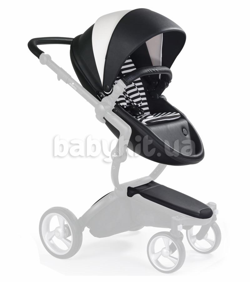 Стартовый набор с люлькой для коляски Mima Xari Black/White