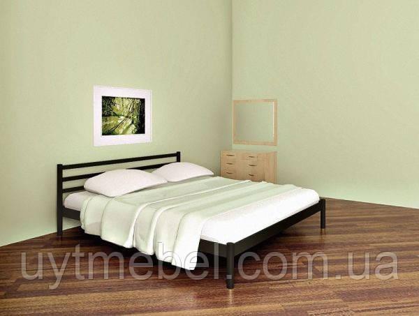 Ліжко FLY-1 1400х2000 чорний мат (МЕТАКАМ)