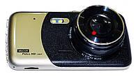Автомобильный видеорегистратор DVR T652 Full HD с выносной камерой заднего вида, фото 4
