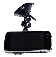 Автомобильный видеорегистратор DVR T652 Full HD с выносной камерой заднего вида, фото 5