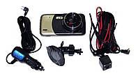 Автомобильный видеорегистратор DVR T652 Full HD с выносной камерой заднего вида, фото 6