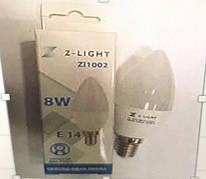 Свеча 8w ZL E14