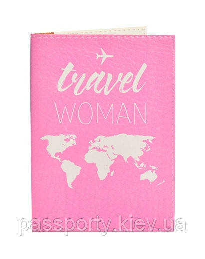 Обложка на загранпаспорт Traver Woman