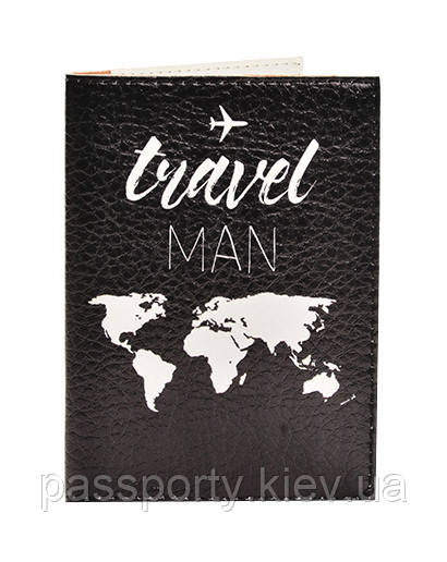 Обложка на паспорт Traver Man