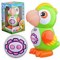 Обучающая сенсорная игрушка Попугай 7496: 6 обучающих функций, стихи + песни + сказки + скороговорки