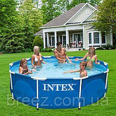 Каркасный бассейн Intex 28200 - 4 305 х 76 см 2 006 л/ч, тент, подстилка, фото 2
