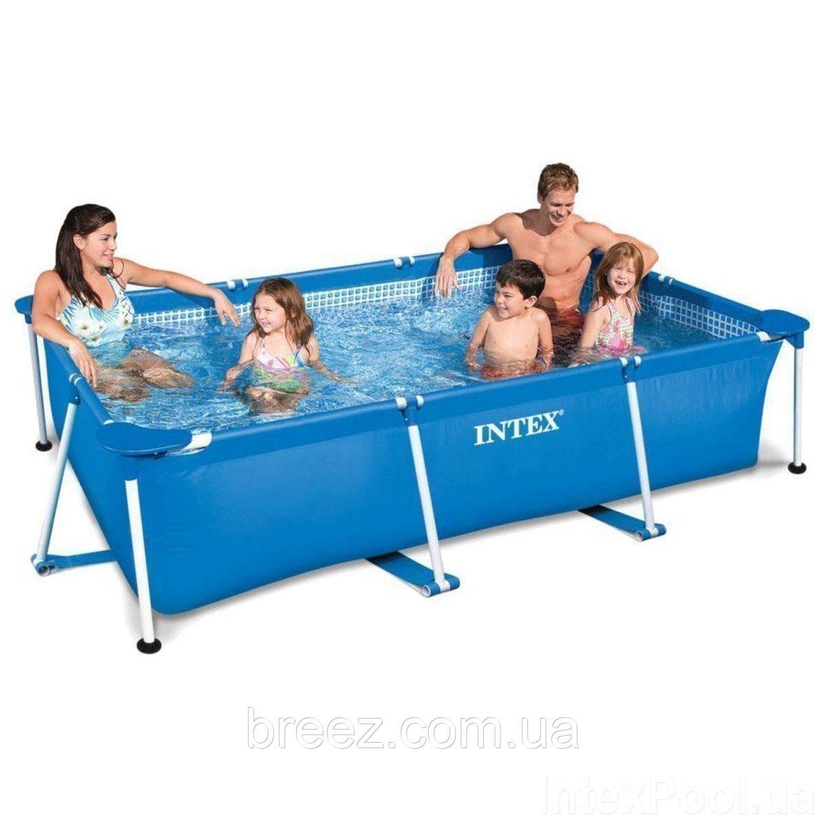Каркасный бассейн Intex 260 х 160 х 65 см