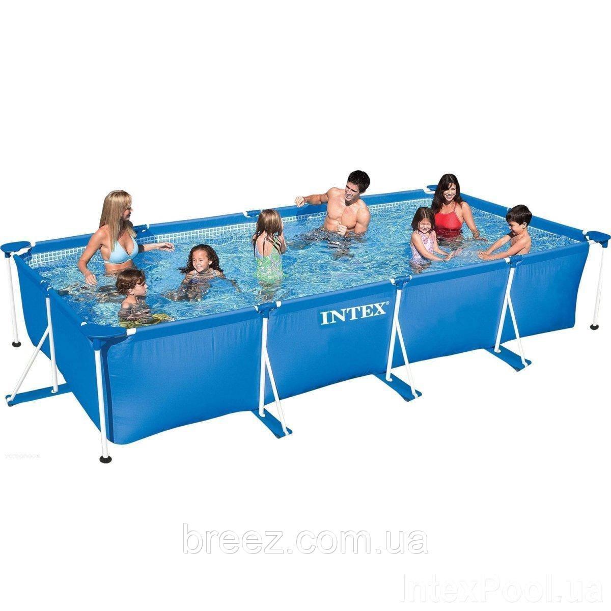 Каркасный бассейн Intex 450 х 220 х 84 см