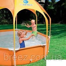 Каркасный бассейн Bestway 56432  244 x 51 см навес, душ, фото 3