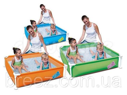 Каркасный бассейн Bestway 122 х 122 х 30.5 см, фото 2