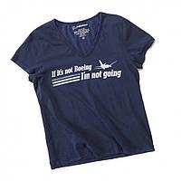 Оригинальная женская футболка If It's Not Boeing T-Shirt 220020010097 (Navy)