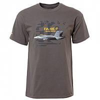 Оригинальная футболка Boeing F/A-18E/F Super Hornet 110010010767 (Grey)