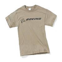 Оригинальная футболка Boeing Signature T-Shirt Short Sleeve 110010010255 (Prairie Dust)