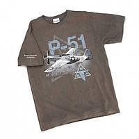 Мужская футболка Боинг Boeing P-51 Heritage T-shirt 110010010420 (Brown)