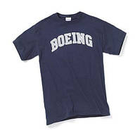 Оригинальная футболка Boeing Varsity T-Shirt 110010010108 (Navy)