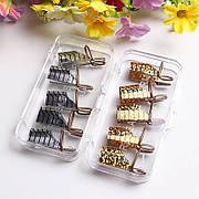 Многоразовые формы для наращивания ногтей, набор 5 шт.