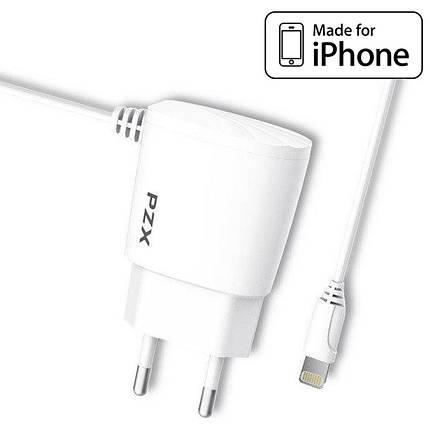 Зарядное устройство для iPhone, 2.1A + кабель Lightning для айфона, зарядка на айфон (C832E), фото 2