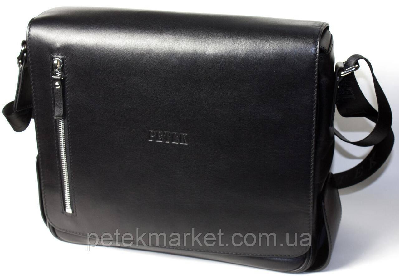 Кожаная мужская сумка Petek 3875