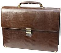 Кожаный портфель Petek 824, фото 1
