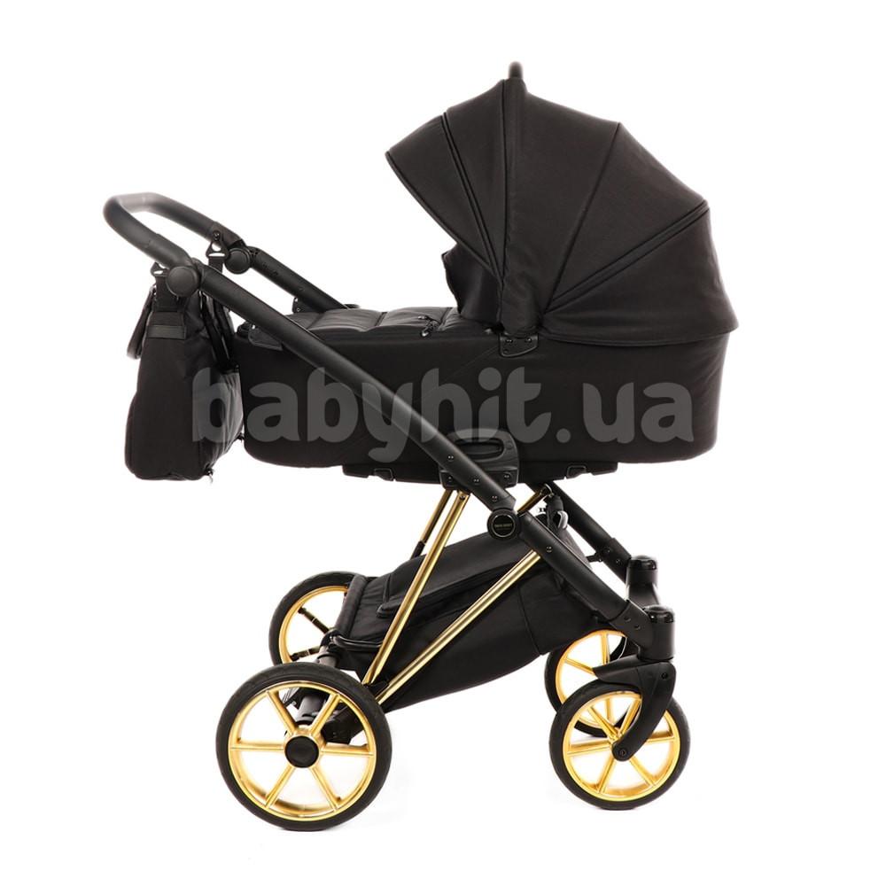 Универсальная коляска 2 в 1 Tako Jumper V Black на шасси Gold