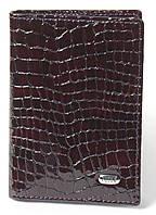 Кожаная визитница (портмоне для визитных и пластиковых карточек) Petek 1044, фото 1