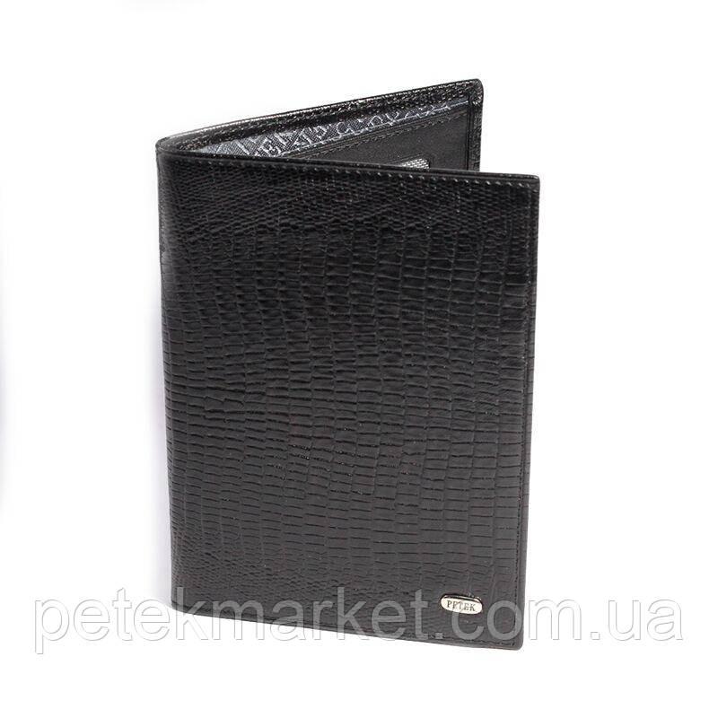 Универсальная Кожаная обложка для паспорта Petek 651