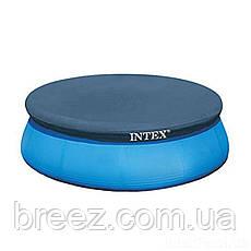 Тент чехол для надувного бассейна Intex 28020 244 см, фото 2