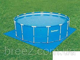 Подстилка для бассейна Bestway 58001 335 х 335 см квадратная, фото 3