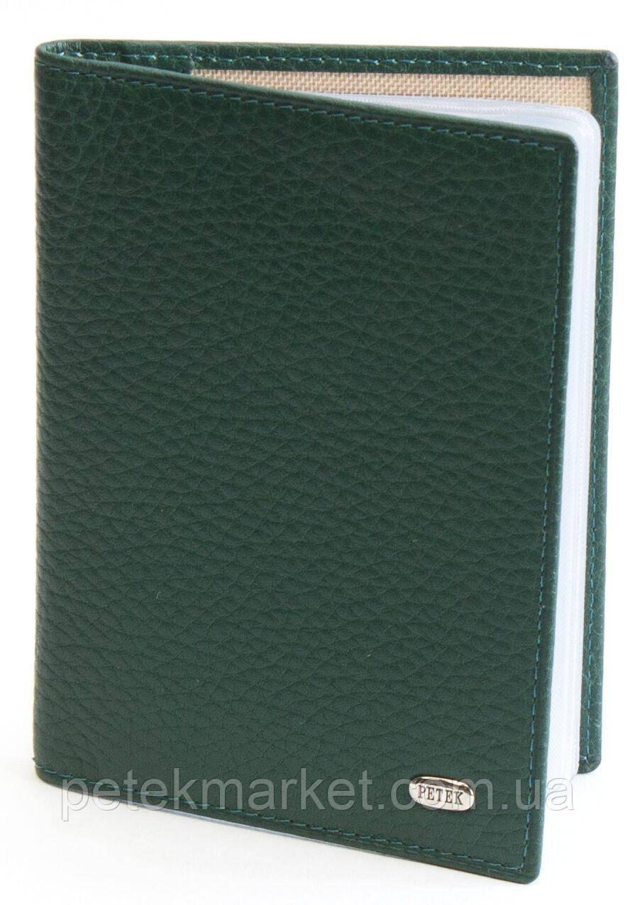 Обложка для прав Petek 584, Естественная фактура, Матовая, Кожа