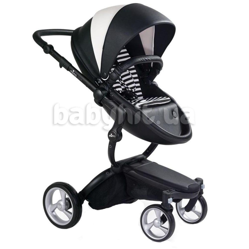 Дитяча коляска Mima Xari Black & White
