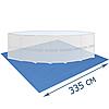 Подстилка для бассейна Bestway 58001 335 х 335 см квадратная, фото 5