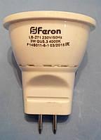 Лампа светодиодная типа MR-11 Feron LB-271 3W 2700K