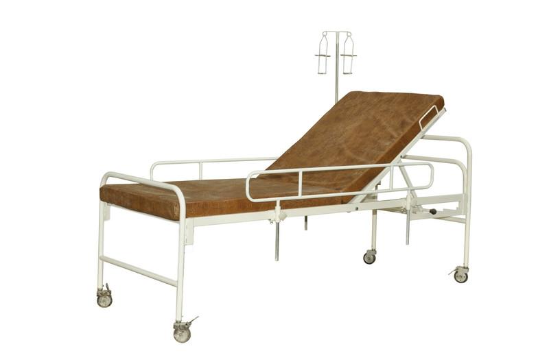 Кровать функциональная двухсеккционная кф-2м медицинская