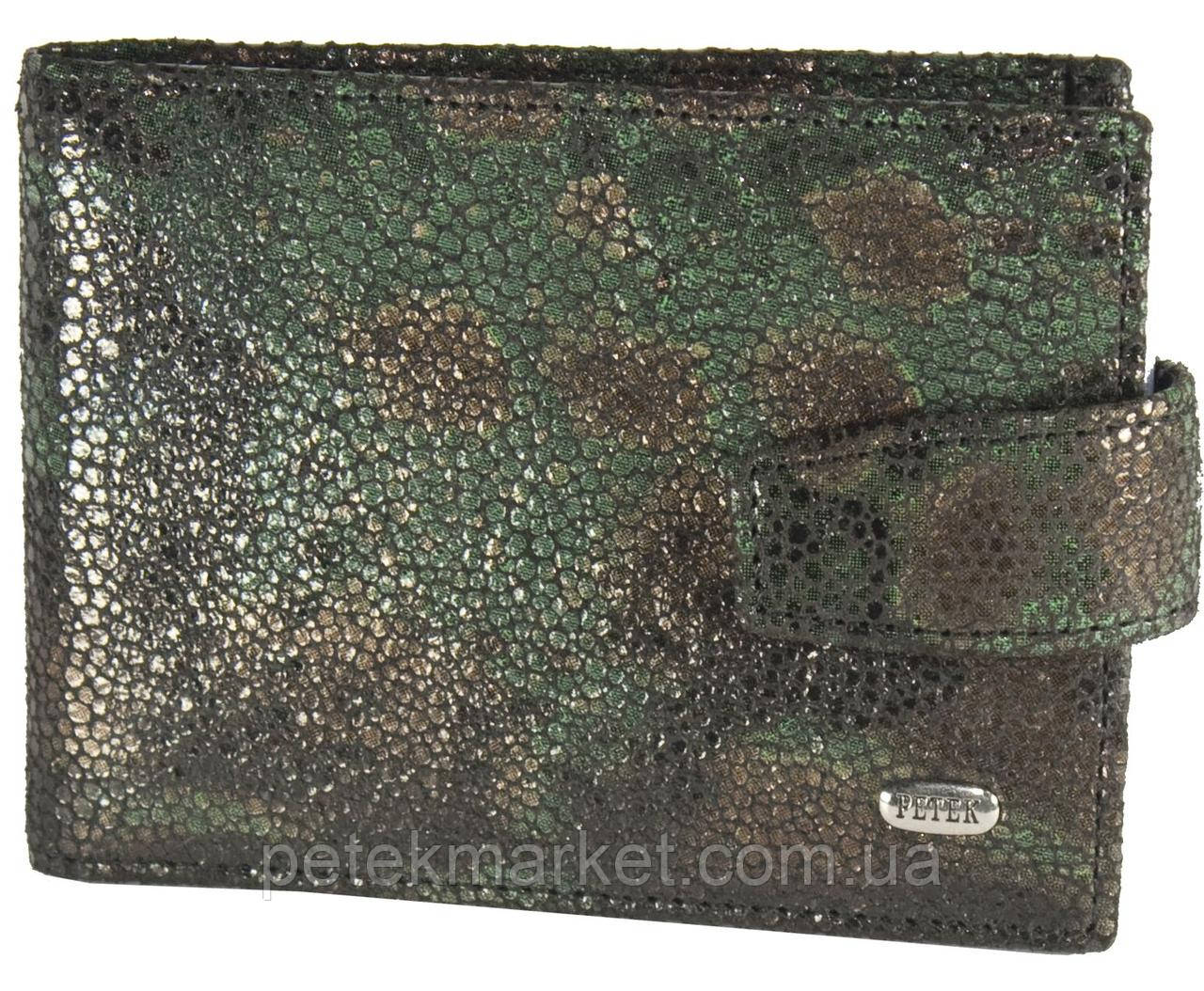 Кредитница Petek 1014, Зелёный, Естественная фактура