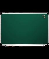 Доска одинарная магнитная, меловая – 1200x900 мм; код – 129012