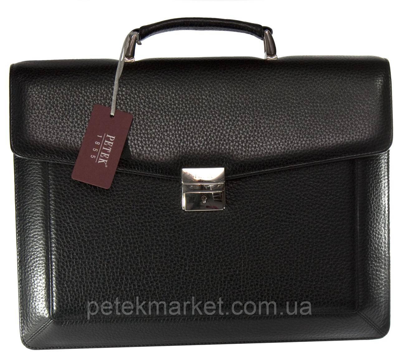 Кожаный портфель Petek 891/1