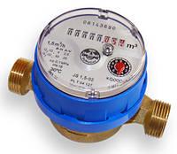 Счетчик холодной воды Apator PoWoGaz JS-1,5/80 Ду 15 одноструйный квартирный короткый