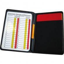 Органайзер для арбитра Jako Referee Data Wallet 2162-08 цвет: черный