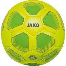 Мини-мяч футбольный Jako Miniball размер 1 2399-23 цвет: желтый/зеленый