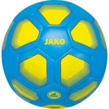 Мини-мяч футбольный Jako Miniball размер 1 2399-89 цвет: голубой/желтый