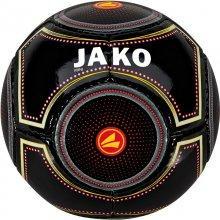 Мини-мяч футбольный Jako Miniball размер 1 2388-81 цвет: черный/мультиколор