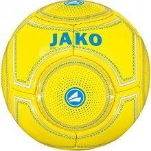 Мини-мяч футбольный Jako Miniball размер 1 2388-51 цвет: желтый/синий