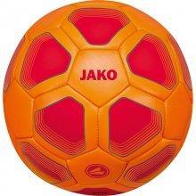 Мини-мяч футбольный Jako Miniball размер 1 2399-01 цвет: оранжевый/красный