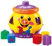 Игрушки для малышей Fisher Price. История возникновения бренда.